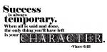 """""""Success Is Always Temporary"""" Word-Art Freebie"""