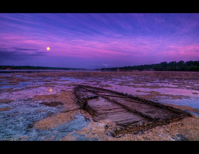 Blue Moon Set at Sunrise Part Deux
