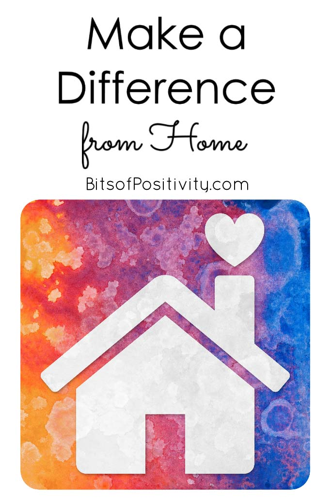 Make a Difference from Home