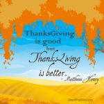 Thanksliving is Better Word Art Freebie