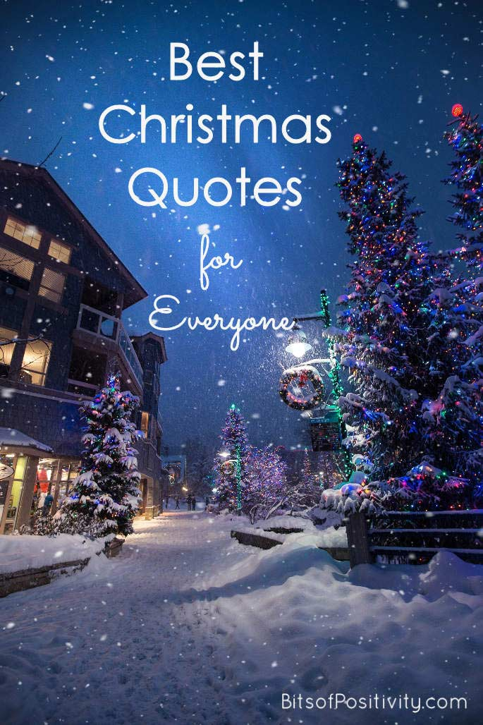 Best Christmas Quotes for Everyone