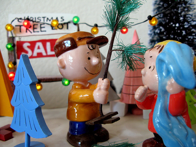 Charlie Brown Christmas (Photo by Kevin Dooley_FlickrCC)