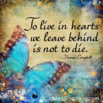 """""""To Live in Hearts"""" Word-Art Freebie"""