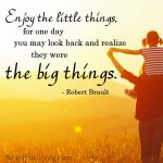 """Enjoy the Little Things"" Word-Art Freebie"