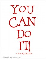 You Can Do It Word Art Freebie