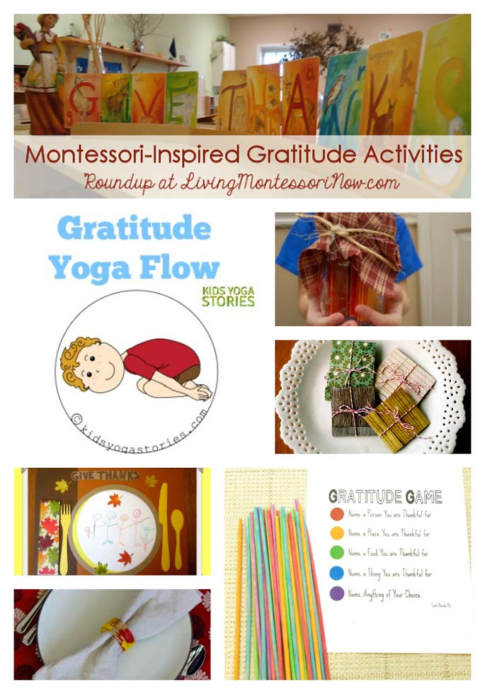 Montessori-Inspired Gratitude Activities