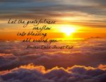 """""""Let the Gratefulness Overflow into Blessing All Around You"""" Word-Art Freebie"""