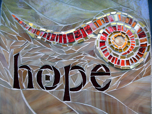 Hope Spiral in Mosaic by Nutmeg Designs