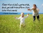 """""""Free the Child's Potential"""" Word Art Freebie"""