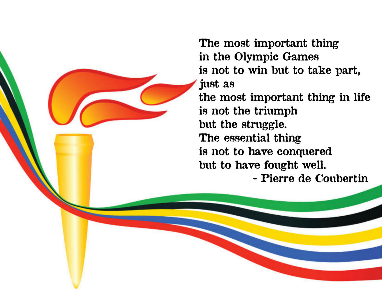 The motto of the Olympic Games: how it sounds, history and interesting facts 94