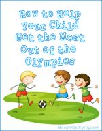 How to Help Your Child Get the Most Out of the Olympics