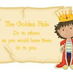 """Golden Rule"" Word Art Freebie"