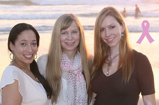 Chea, Deb, and Christina in San Diego