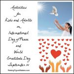 Activities for Kids and Adults on International Day of Peace and World Gratitude Day