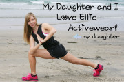 My Daughter and I Love Ellie Activewear