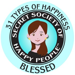 31 Types of Happiness Happicon - Blessed