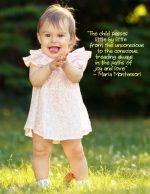 """Treading Always in the Paths of Joy and Love"" – Montessori Word Art Freebie"
