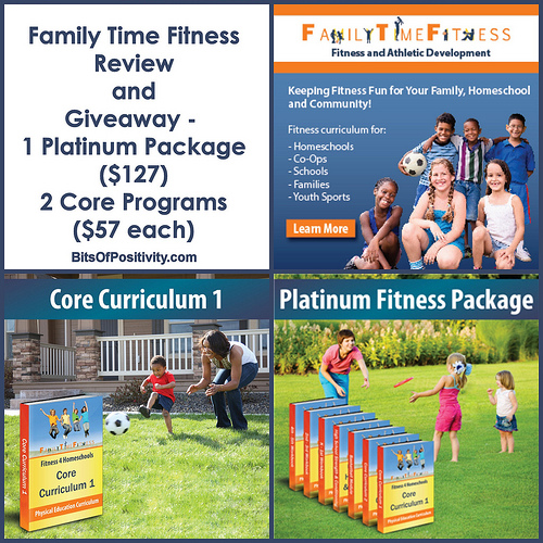 Family Time Fitness Review and Giveaway