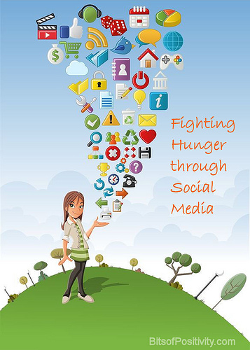 Fighting Hunger through Social Media