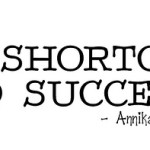 """No Shortcuts to Success"" Word-Art Freebie"