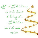 """Christmas in the Heart"" Word-Art Freebie"