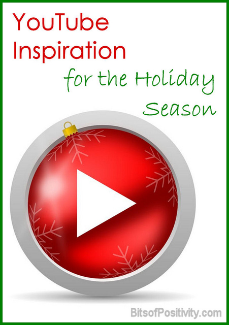 YouTube Inspiration for the Holiday Season