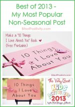 Best of 2013 – My Most Popular Non-Seasonal Post