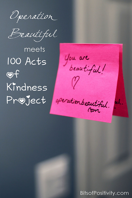Operation Beautiful Meets 100 Acts of Kindness Project