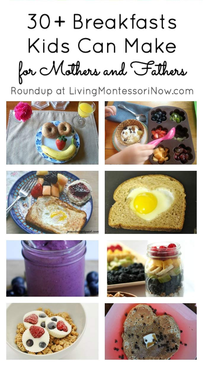 30+ Breakfasts Kids Can Make for Mothers and Fathers