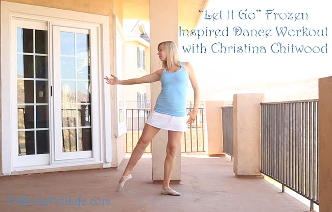 "'Let It Go"" Frozen Inspired Dance Workout with Christina Chitwood"