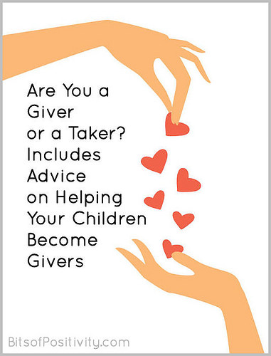 Are You a Giver or a Taker