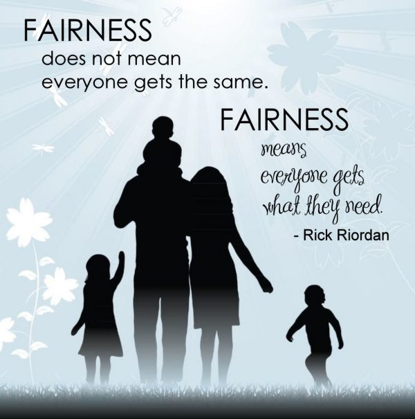 Image result for fairness quote