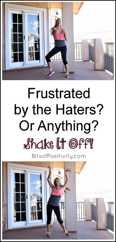 Frustrated by the Haters? Or Anything? Shake It Off!