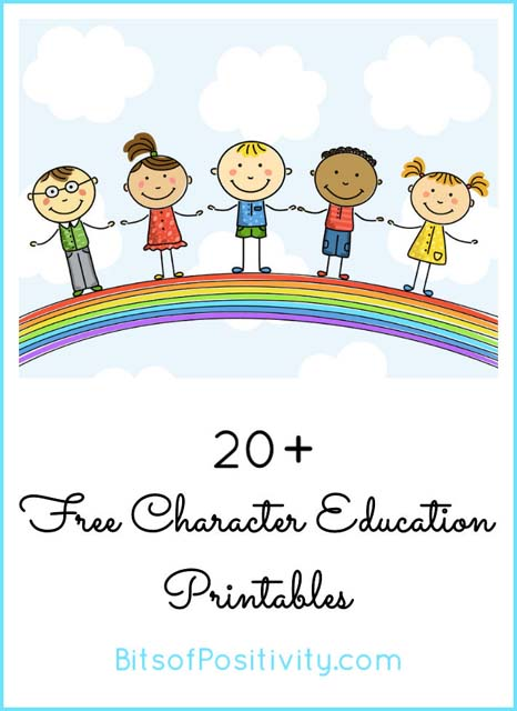 Free Character Education Printables