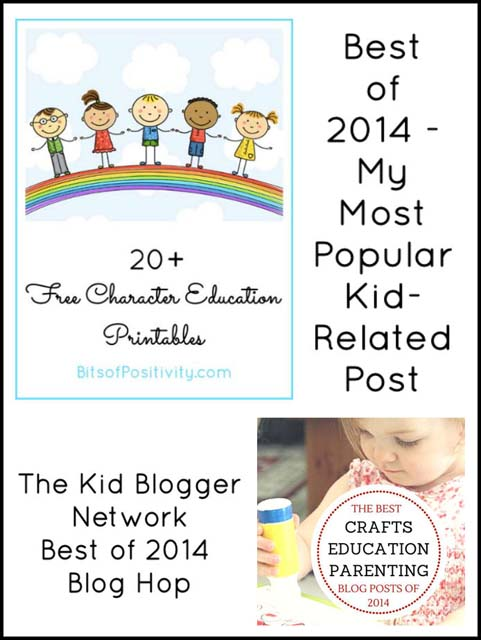 Best of 2014 - My Most Popular Kid-Related Post