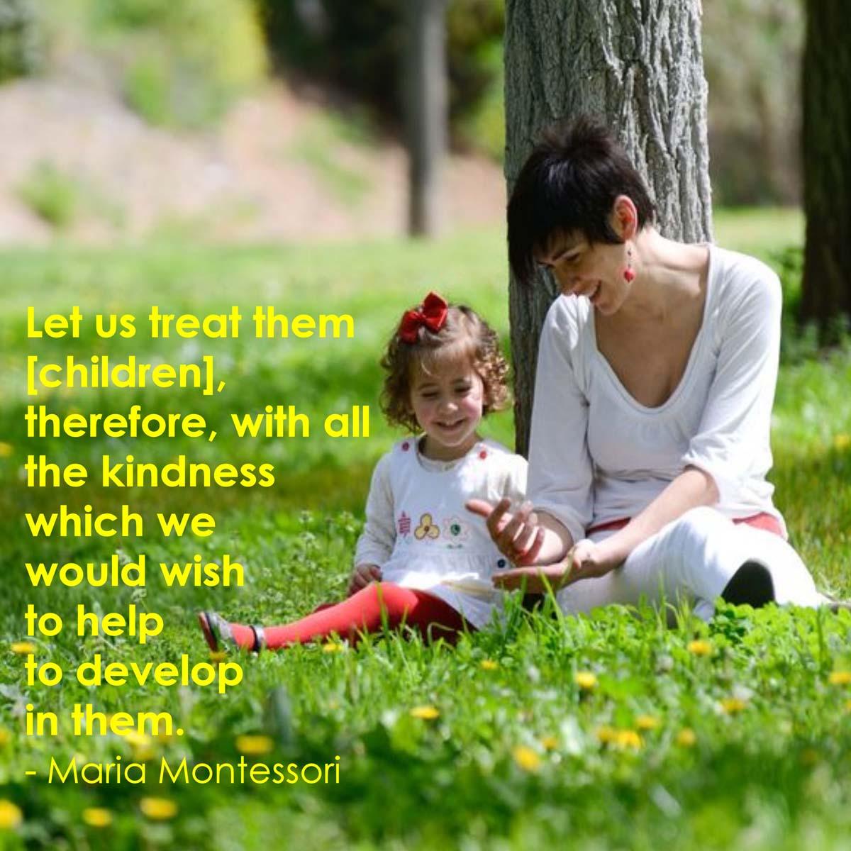 Quotes About Educating Children Maria Montessori Quote...