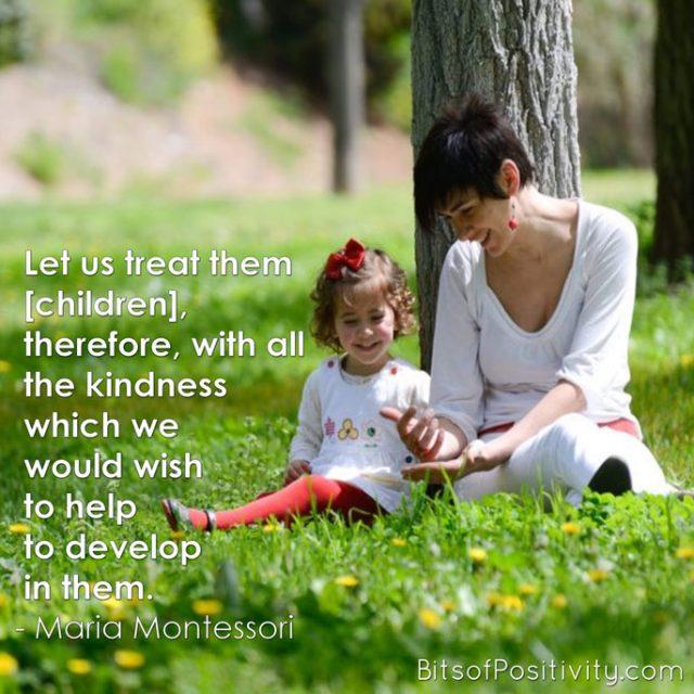Montessori Kindness Word Art Freebie