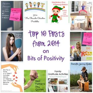 Top 10 Posts from 2014 on Bits of Positivity