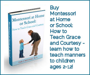 Montessori at Home or School - How to Teach Grace and Courtesy