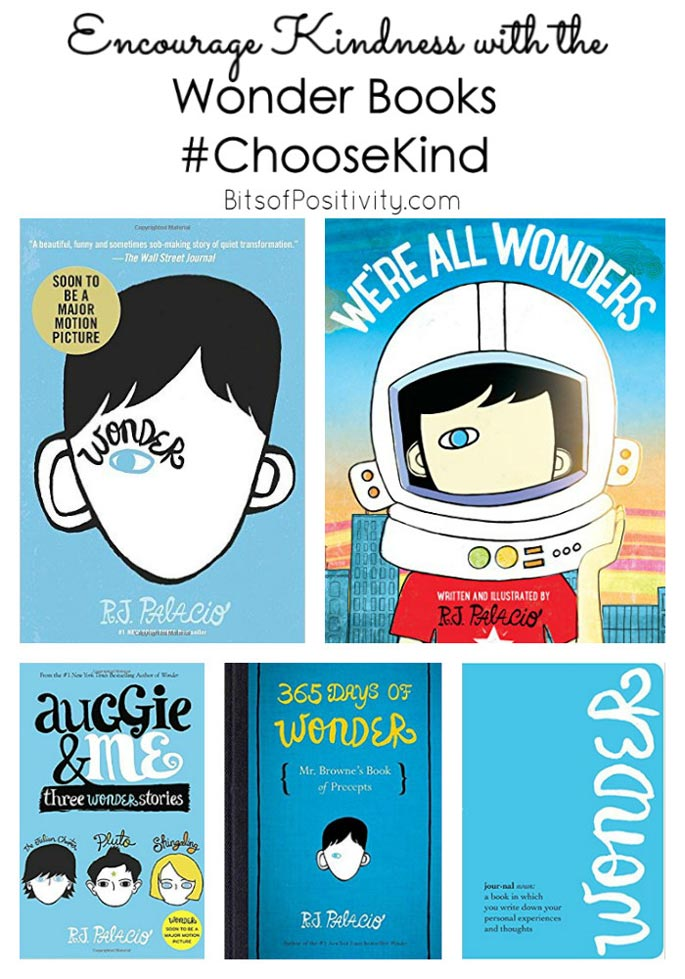 Encourage Kindness with the Wonder Books #ChooseKind