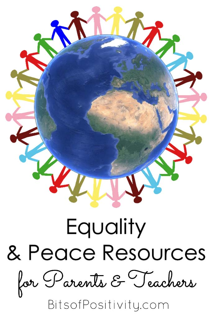 Equality and Peace Resources for Parents and Teachers