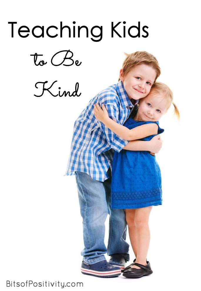 Teaching Kids to Be Kind