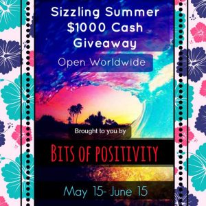 Sizzling Summer $1000 (now $1250) Cash Giveaway