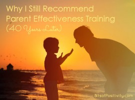Why I Still Recommend Parent Effectiveness Training (40 Years Later)