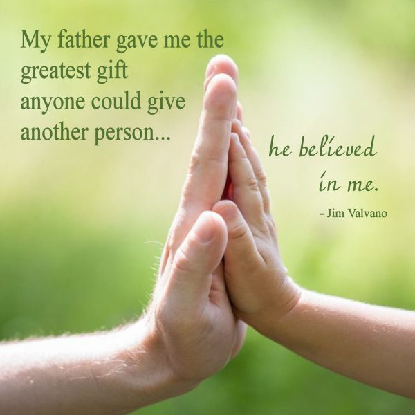 """My Father Gave Me the Greatest Gift"" Word Art Freebie"
