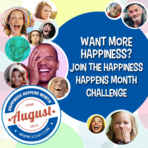 Happiness Happens Month Challenge