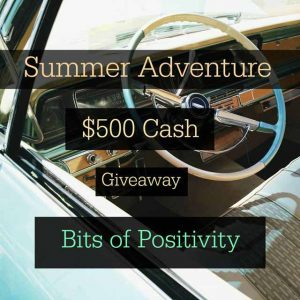 Summer Adventure $500 Cash Giveaway