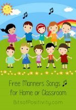Free Manners Songs for Home or Classroom + $800 Cash Giveaway!