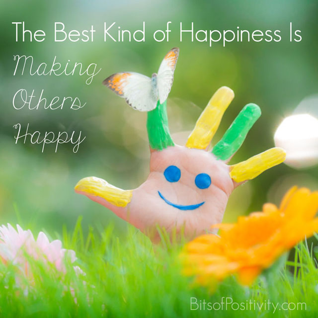 The Best Kind of Happiness Is Making Others Happy