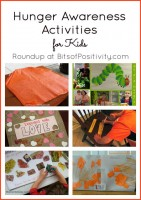Hunger Awareness Activities for Kids